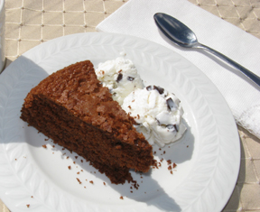 Picture of gluten-free chocolate cake