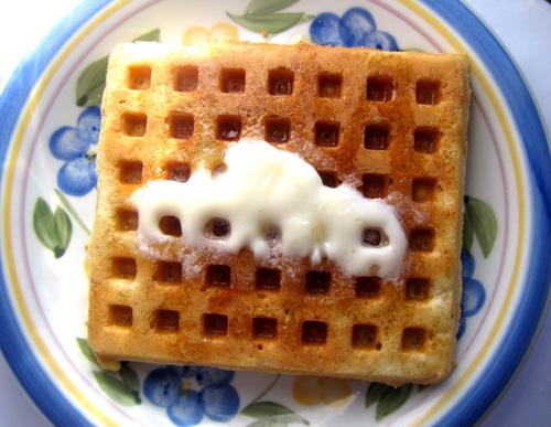 Multigrain Vanilla Waffle