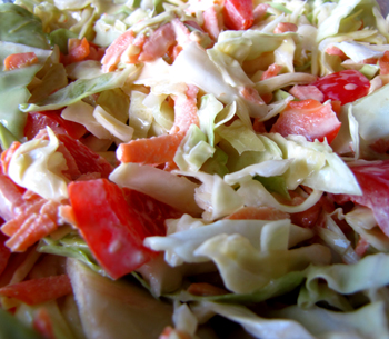 Gluten-Free Mayonnaise in Coleslaw