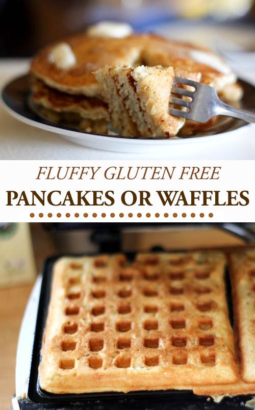 Gluten Free Pancakes/Waffles - I Am Gluten Free