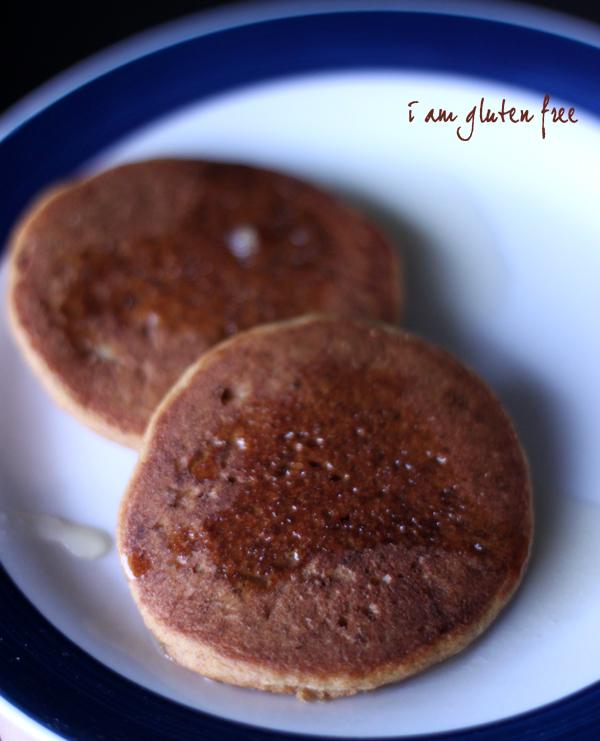 Silver Dollar Pumpkin Pancakes - I Am Gluten Free