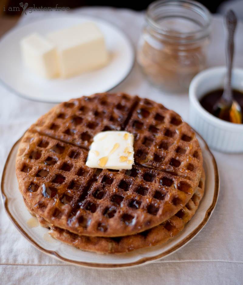 Cinnamon Vanilla Waffles (1 of 4)