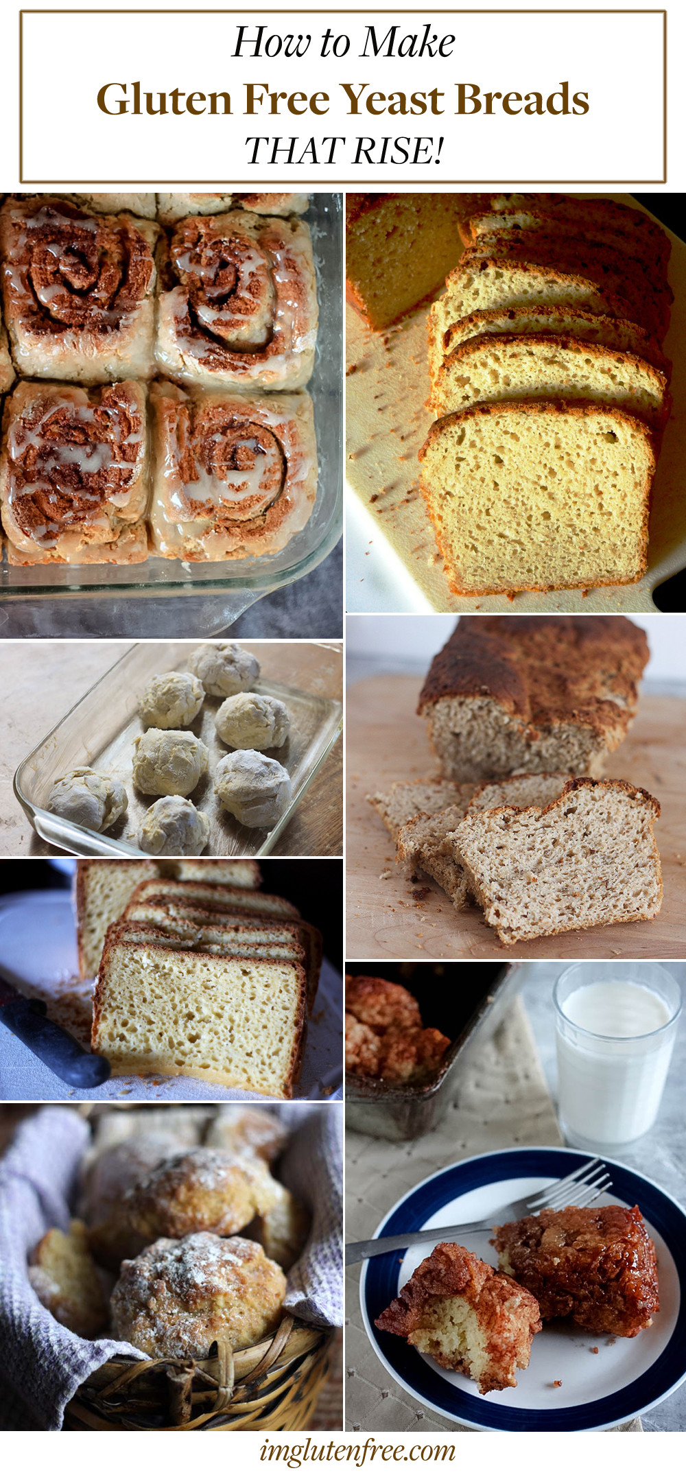 How to Make Gluten Free Yeast Breads that Rise!
