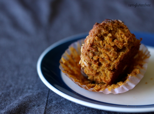 Coconut Pecan Carrot Cake Muffins