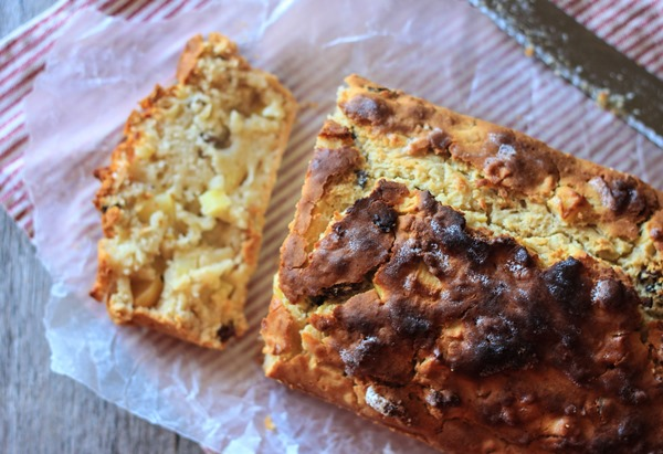 Gluten Free Apple Quick Bread