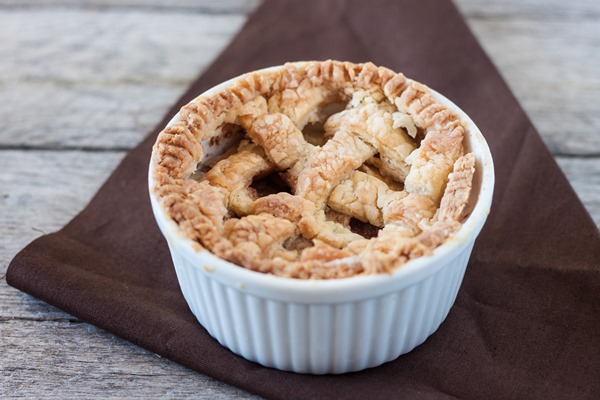 Single Serving Apple Pie