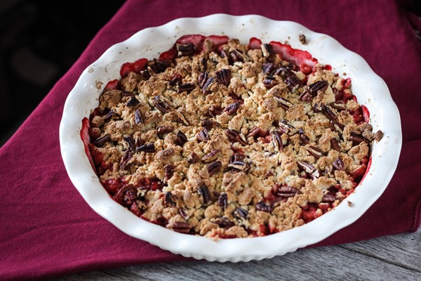 Gluten free strawberry crisp recipe