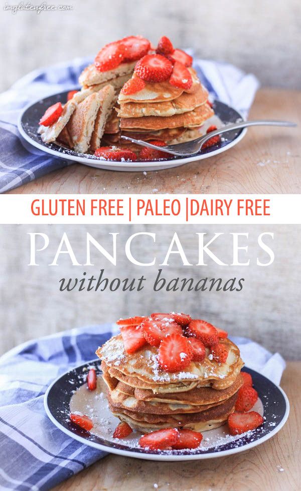 Finally a delicious paleo pancake that doesn't taste like scrambled eggs...or bananas!