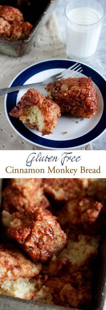 Gluten free cinnamon monkey bread
