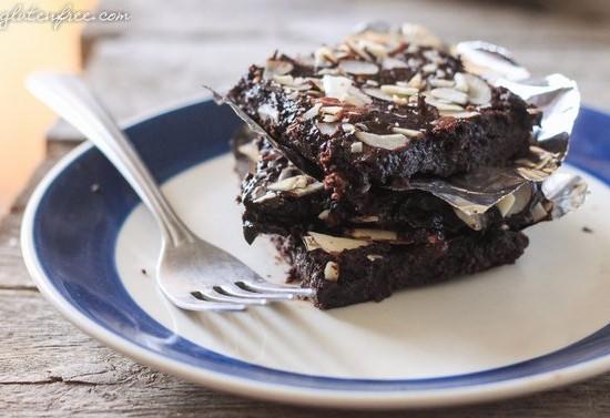 flourless fudge brownies-13
