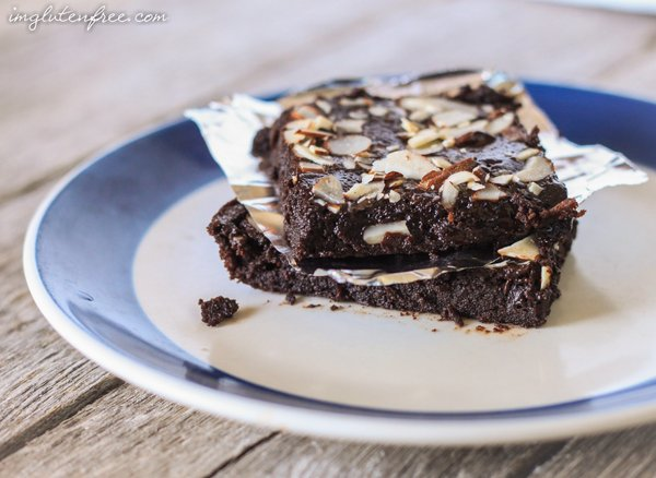 flourless fudge brownies-2