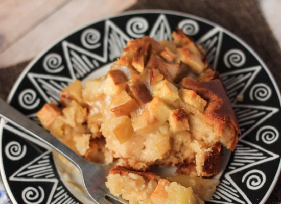 Gluten Free Apple Cobbler