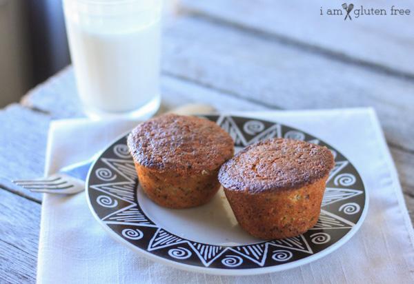 Gluten Free Poppy Seed Muffins