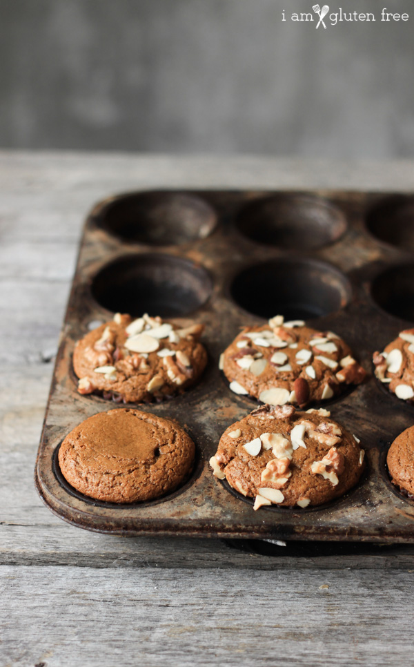 Gluten free gingerbread muffins: sweet, spicy, and super soft!
