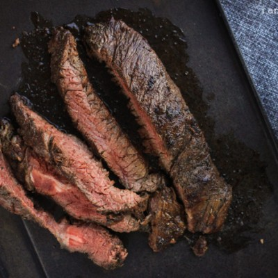 Balsamic Molasses Marinated Skirt/Flap/Blade/Flank Steak