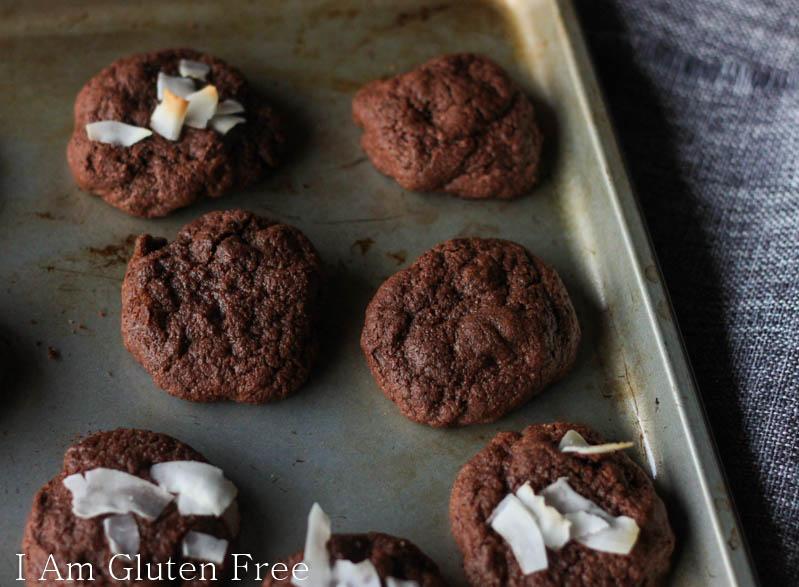 Gluten free cookies that taste like fudgy brownies!