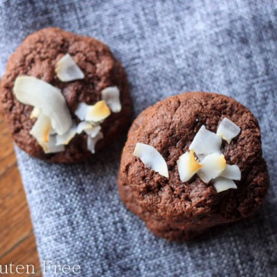Chocolate Fudge Brownie Gluten Free Cookies