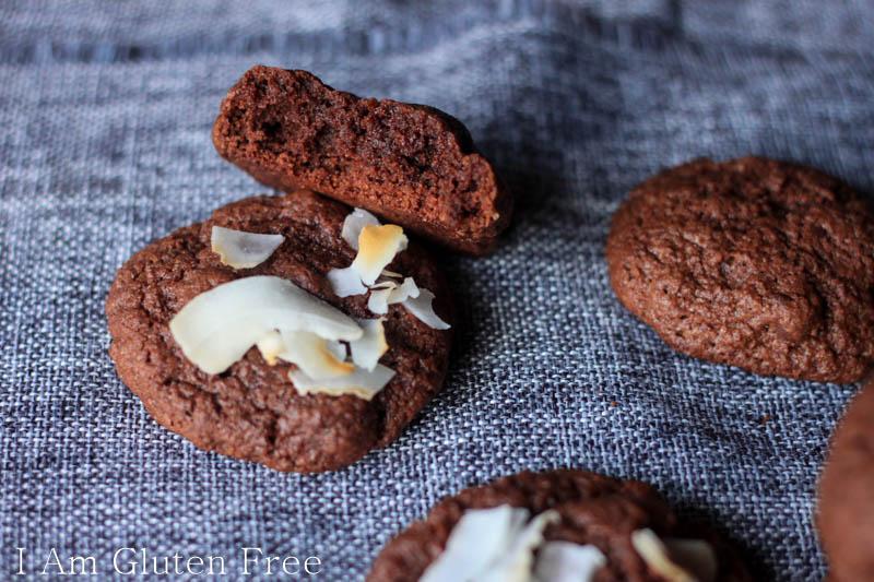 Gluten free cookies that taste like fudge brownies!