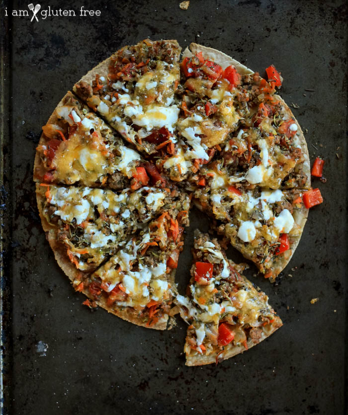 Gluten Free Easy College Recipes Roundup: Tortilla Pizza