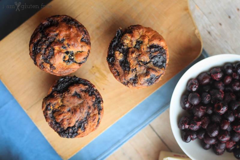 Gluten Free Blueberry Swirl Muffins (13 of 19)