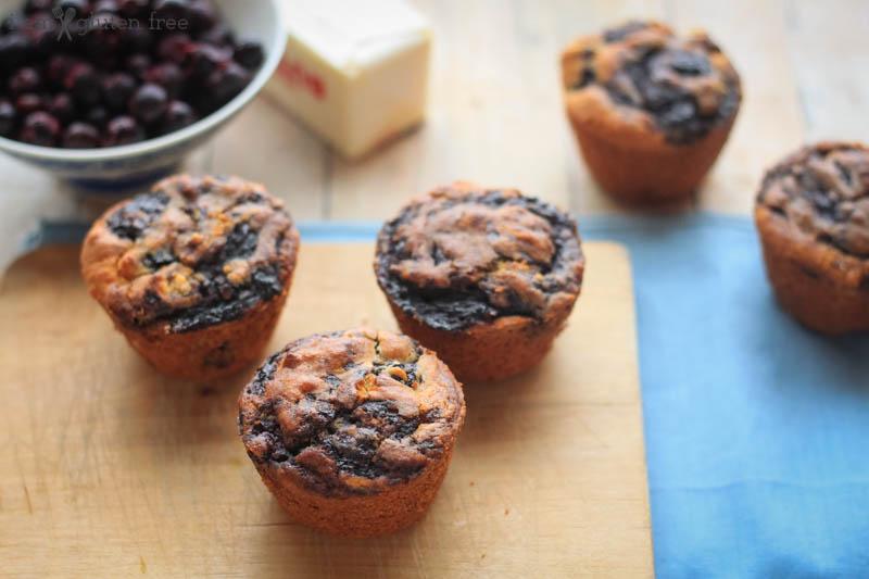 Gluten Free Blueberry Swirl Muffins (17 of 19)