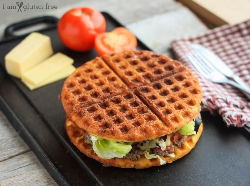 Gluten Free Waffle Sandwich | Gluten free cold lunch ideas