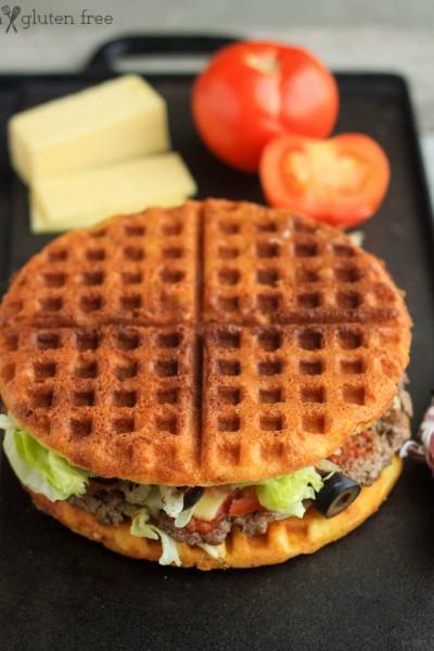 Gluten Free Waffle Sandwich