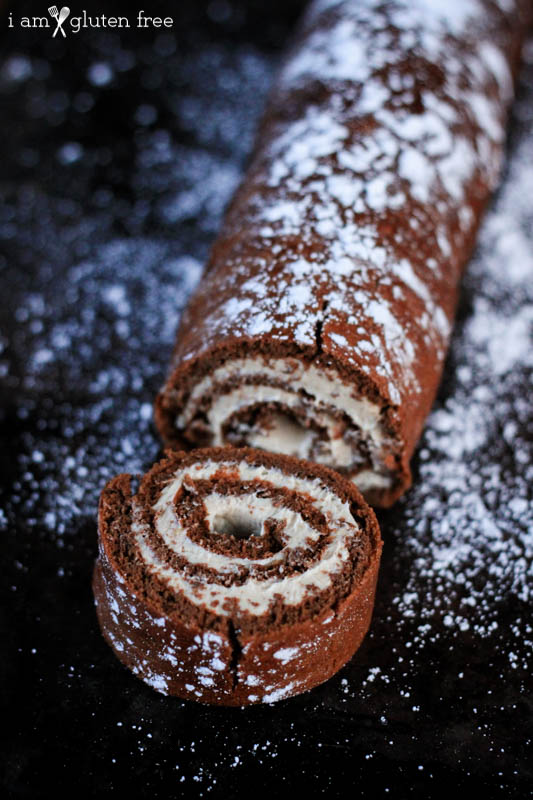 Chocolate Roulade Recipe (Gluten Free and Paleo Friendly)