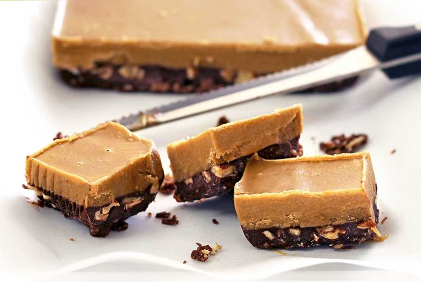 Easy Paleo Desserts--No Cook Chocolate Nut Butter Fudge