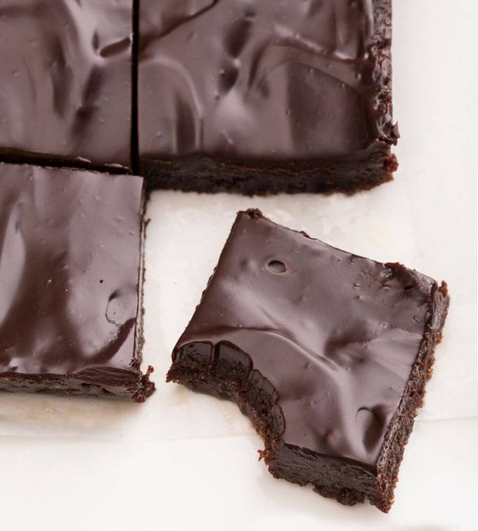 Easy paleo desserts--Ultimate Unbaked Brownies