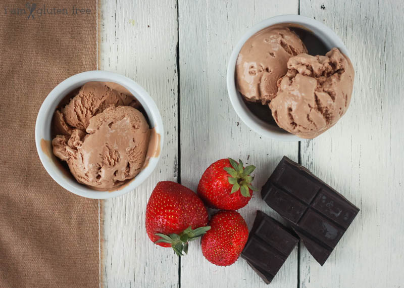 Gluten Free and Refined Sugar Free Homemade Chocolate Ice Cream (16 of 19)