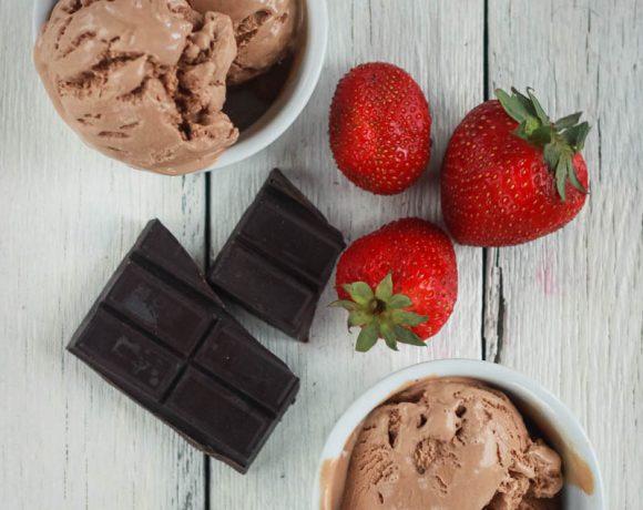 Gluten Free Recipe for Ice Cream (Chocolate/Vanilla)