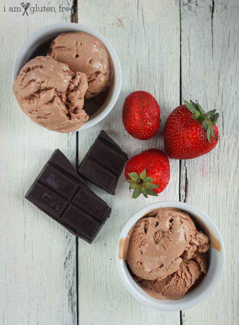 Gluten Free Recipe for Ice Cream (Chocolate/Vanilla)