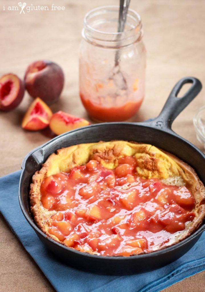 Gluten Free Peach Dutch Baby Recipe (5 of 11)