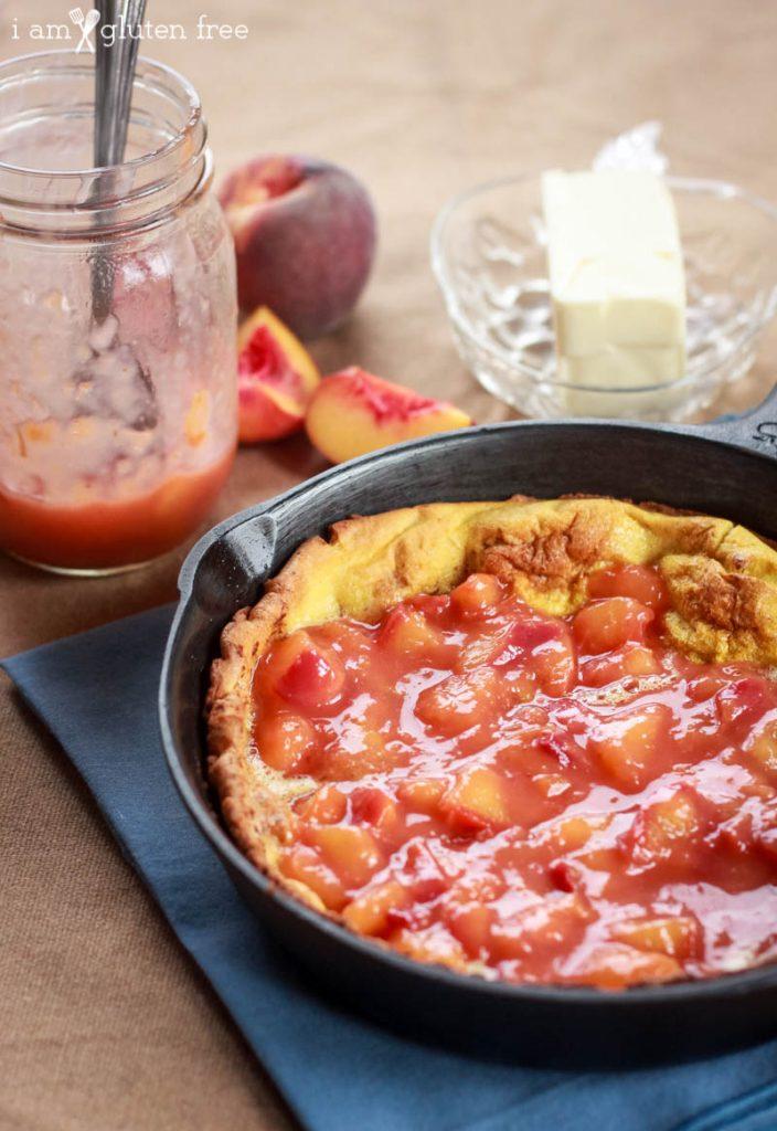 Gluten Free Peach Dutch Baby Recipe (6 of 11)