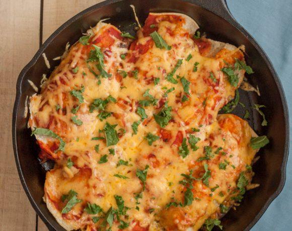 Gluten Free Enchiladas With Chicken and Corn Tortillas