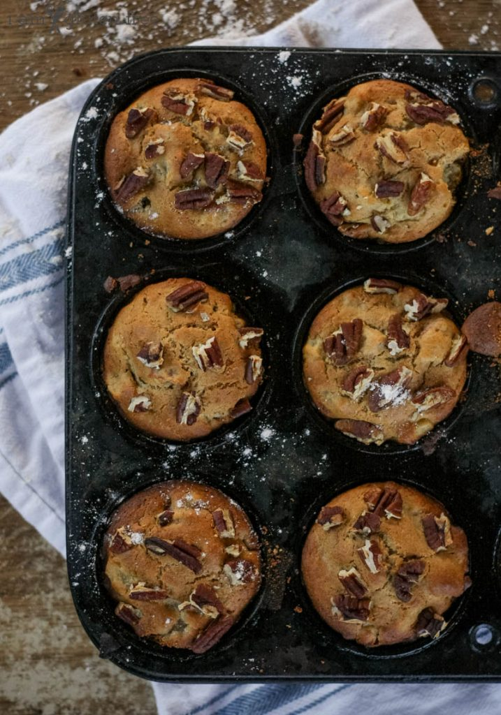 Gluten free apple muffins for cold winter mornings!