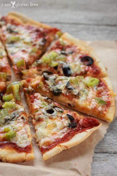 Easy 30-Minute Gluten Free Pizza Crust Recipe