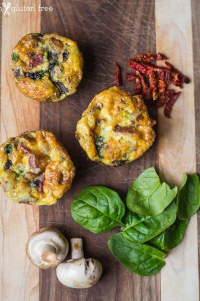 Make Ahead Gluten Free Breakfast Muffins