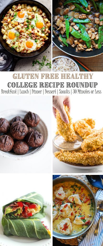 Gluten Free Easy College Recipes