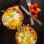 Gluten Free Huevos Rancheros Tostadas