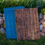 Step by Step Food Photography Backgrounds from a Wood Pallet