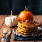 Fluffy Gluten Free Pumpkin Pancakes