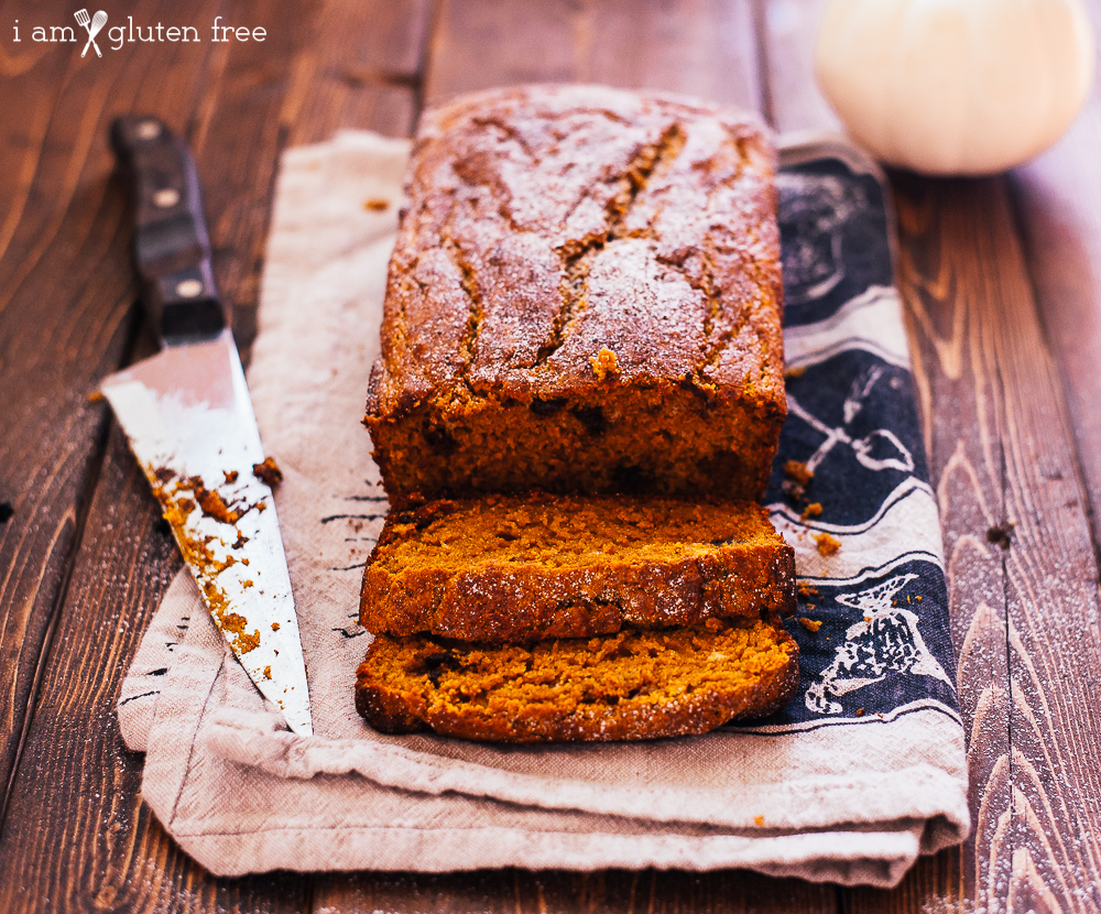 Easy and incredibly moist and soft gluten free pumpkin bread!